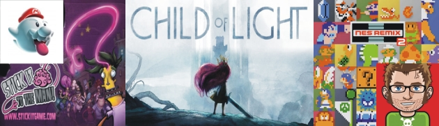Child of Light Stick it to the Man NES Remix 2